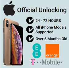 Factory Unlock Service For iPhone X XS Max XR On Orange EE T-Mobile UK