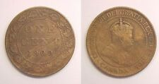1909 Canadian Large Cent  Very Good VG