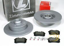 Vw Golf 4 IV Cabrio - Zimmermann Bremsscheiben Bremsen Bremsbeläge für hinten*