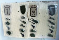 """ACCESSORIES & Kid Size ARMY PATCHES for GI Joe, Ultimate Soldier, 12"""" Action Fig"""