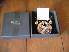 De Biasi Murano Glass Necklace and Earings
