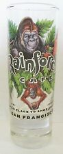 RAINFOREST CAFE, SAN FRANCISCO  A WILD PLACE TO SHOP AND EAT   4 INCH SHOT GLASS