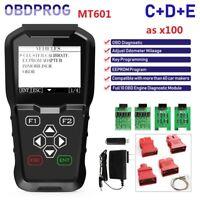OBDPROG MT601 OBDII IMMOBILISER+Od0meter Adjustment mi leage EEPROM Scanner Tool