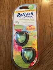 Refresh Your Car! Fresh Spring Air Scent Mini-Diffuser 2 In A Pack