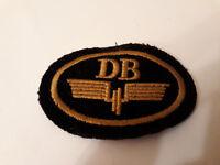 Deutsche Bahn DB Aufnäher Patch Abzeichen Uniformjacke 1940-1970 Original  RAR