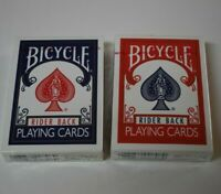 Bicycle Poker 808 Playing Cards Rider Back Blue Red 2 Sealed Decks Made in USA