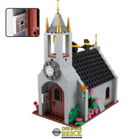 Church, castle cathedral with spire and accessories - 270 parts | All parts LEGO