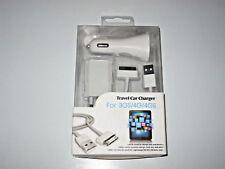 Ladegerät + KFZ Ladegerät + Ladekabel/Datenkabel für I phone 3G/3GS/4G/4GS