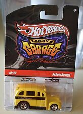 Hot Wheels School Busted Larry's Garage 10/39 New
