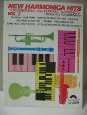 New Harmonica Hits Vol 2 Chromatic & Diatonic Pick Edmondson Sheet Music Book