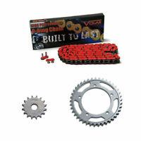 1997-2007 Honda CBR1100XX Blackbird O-Ring Chain and Sprocket Kit Red