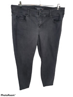 Torrid Premium Skinny Jegging Stretch Black Denim Jeans Womens 22R