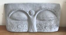 Latex Mould for making this Buddha Eyes Plaque