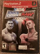 WWE Smackdown Vs. Raw 2006 (Sony Playstation 2 2005) PS2 Wrestling Game