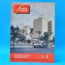 Der Deutsche Straßenverkehr 5/1964 DDR Skoda 1000 MB Rechtsverkehr in Schweden D