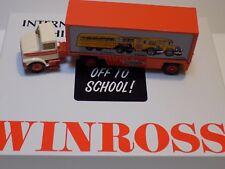 1995 WINROSS INTERNATIONAL HARVESTER HISTORICAL SERIES #8 OFF TO SCHOOL 1/64