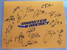 13/14 Lake Erie Monsters Team Auto 8x10 Photo Calvin Pickard Colorado Avalanche