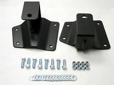 "Chevy Lowering Kit 2"" Rear Axle Drop Hangers 1999 - 2006 GMC 1500 Pickup Truck"