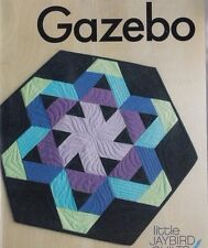 "Gazebo - fun pieced table topper PATTERN uses 2.5"" strips - Jaybird Quilts"