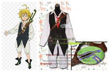 The Seven Deadly Sins Meliodas cosplay costume