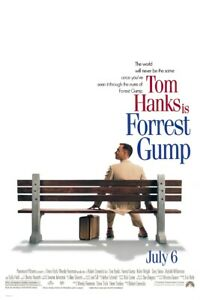 "FORREST GUMP - MOVIE POSTER (REGULAR STYLE) (SIZE: 24"" x 36"")"