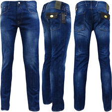 Replay Blue Anbass Slim Fit Denim Blue Jean / Denim Pants - M914-63C-923