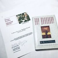 """Ray Bradbury Signed Hardcover Book """"The Martian Chronicles"""" First Edition 1997"""