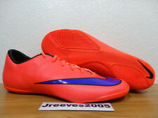 Nike Mercurial Victory V IC BRIGHT CRIMSON Sz 12 100% Authentic CR7 Indoor