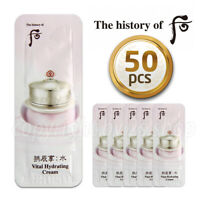 [The History of Whoo]Soo Yeon Cream / Vital Hydrating Cream 1ml x 50pcs