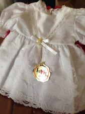 Robe vintage baptême cérémonie bébé enfant origine fabrication française 6 mois