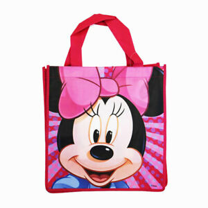 """Disney 13"""" Shopping Grocery Treat Gift Bag Tote Mickey, Minnie Mouse NW"""