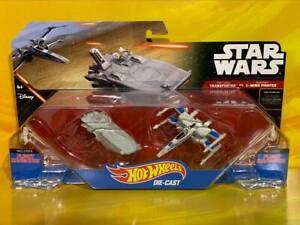 Star Wars - Hot Wheels - First Order Transporter & Resistance X-Wing