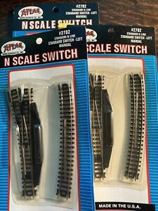 N Scale Train Accessories Tracks, Switch Machines, Etc