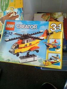 Lego Creator Cargo Heli 31029 (2015) (Worn Box) box 10
