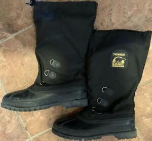 Sorel Snowbear Kaufman Canada Mens Boots Size 9 Winter Thick Insulation Liner