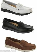 SCARPE BIRKENSTOCK SHOES SAITAMA DONNA NERO MARRONE BIANCO MOCASSINI 100% PELLE