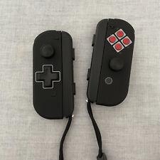 CUSTOM NES Theme Joy Con for Nintendo Switch - With D-Pad - Slight Imperfection