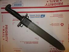 Vintage Wwii era 10 inch M1 bayonet w/ scabbard for M1 Garand !