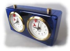 New BHB Move Mechanical Chess Clock Blue - Germany