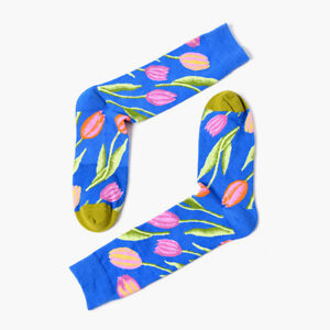 60Styles High Quality Men Women Harajuku Design Creative Funny England Socks Sox