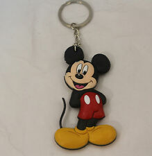 mickey mouse rubber key chain doll cute keychain ornament toys new