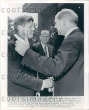 1962 Wire Photo President John F Kennedy With Dean Rusk Secretary of State