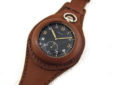 ZENITH D-H Wehrmacht WWII Vintage 1939-1945 Swiss Original Watch SERVICED & RUNS