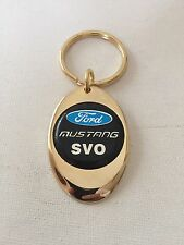Ford Mustang SVO Keychain Solid Brass key chain Personalized Free