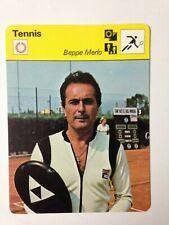 CARTE EDITIONS RENCONTRE 1979 / TENNIS - BEPPE MERLO