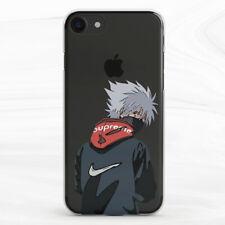 Fashion Naruto Kakashi Anime Case For iPhone 6S 7 8 Xs XR 11 Pro Plus Max SE