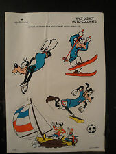 Planche Auto-Collants Dingo Sport