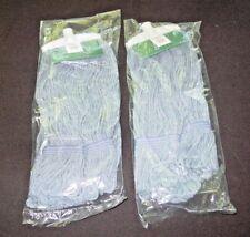 Zócalo tradicionales de 4 capas de algodón sin blanquear fregona de-mezcla de limpieza general S509117