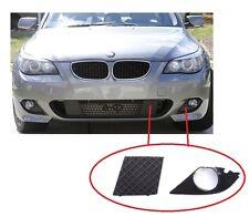 BMW 5 E60 E61 2003-2010 M SPORT PARAURTI ANTERIORE INFERIORE SINISTRA GRILL + FENDINEBBIA LUCE copertura