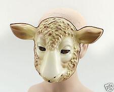 Plástico Cordero Animal Mascarilla fancydress